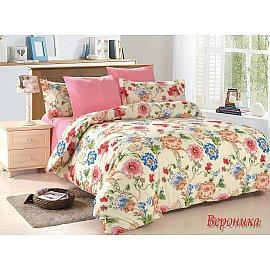 КПБ поплин Veronica (1.5 спальный), розовый