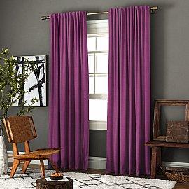 """Комплект штор """"Ибица"""", фиолетовый, 200*270 см"""