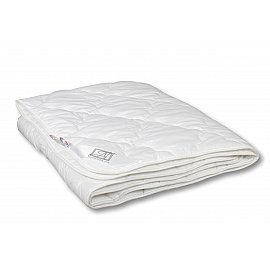 "Одеяло ""Лаванда"", легкое, белый, 140*205 см"