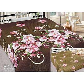 Покрывало Шарм №5003, коричневый, розовый, 220*240 см