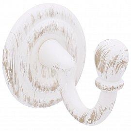 """Комплект крючков для штор """"Капля"""", дизайн 105.601, белое золото ампир"""