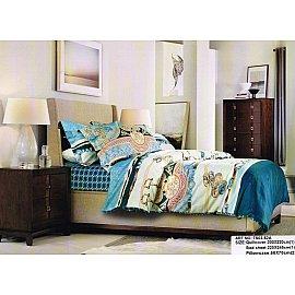 КПБ Cатин дизайн 52A (1.5 спальный)