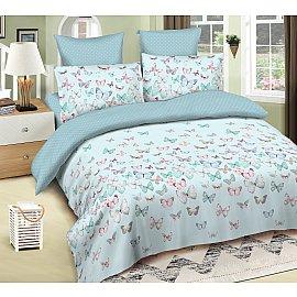 КПБ сатин Amore Mio Fiona (2 спальный), голубой