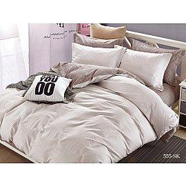КПБ Сатин печатный 555 (1.5 спальный)