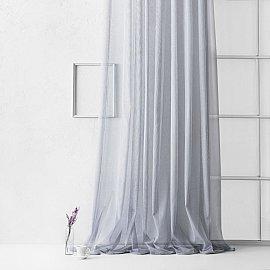 "Тюль ""Лайнс"", серый, 300*270 см"