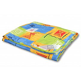 """Одеяло """"Холфит"""", легкое, цветной, 200*220 см"""