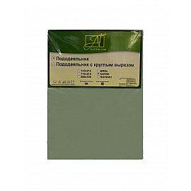 Пододеяльник сатин однотонный, ментол, 145*215 см
