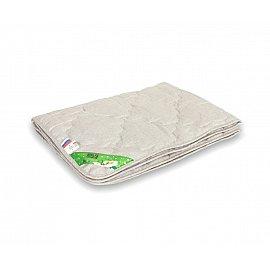 "Одеяло ""Лен"", легкое, бежевый, 140*105 см"