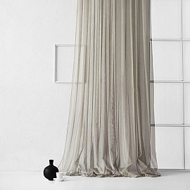 """Тюль """"Стори"""", серый, 500*270 см"""