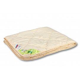 """Одеяло """"Хлопок"""", легкое, бежевый, 140*105 см"""
