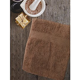 Полотенце Amore Mio AST Clasic, коричневый теплый, 100*150 см
