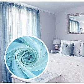 Тюль вуаль Amore Mio RR 2022, голубой, 300*270 см
