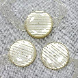 Подхваты магнитные Ajur M10-1, молочный