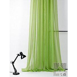 """Тюль """"Берис (зеленый)"""", 500*280 см"""