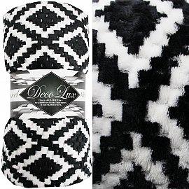 Плед Absolute Deco Lux, черный