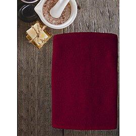 Полотенце махровое Amore Mio AST Cotton, бордовый, 65*130 см