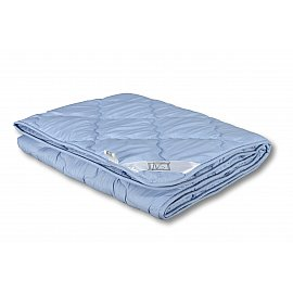 "Одеяло ""Лаванда"", легкое, голубой, 140*205 см"