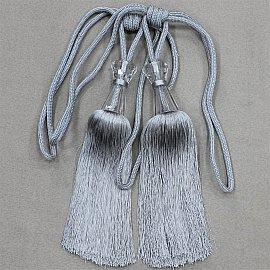 Кисти Ajur HK MB917AY-13263, серый, 60 см