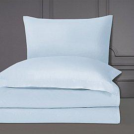 Простынь Arya Сатин Camino, голубой, 240*260 см