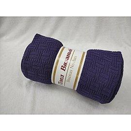 Плед вязаный акрил Buenas Noches Assai, фиолетовый, 180*200 см