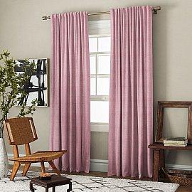 Комплект штор Ибица, розовый, 200*270 см
