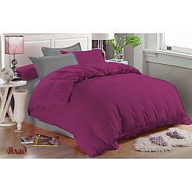 КПБ мако-сатин Vlad (Евро), фиолетовый