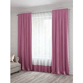 Портьеры №011, розовый