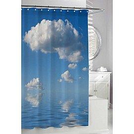 """Штора для ванной """"Облака"""", фотопечать"""