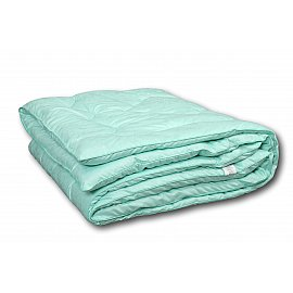"""Одеяло """"Эвкалипт"""", теплое, зеленый, 140*205 см"""