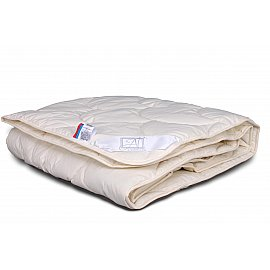 """Одеяло """"Каннабис"""", легкое, бежевый, 200*220 см"""