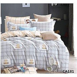 КПБ Сатин печатный дизайн 181 (2 спальный)
