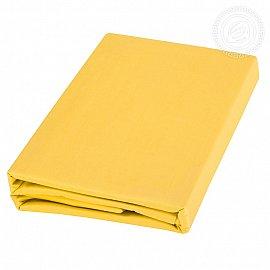 Пододеяльник сатин, желтый, 205*220 см