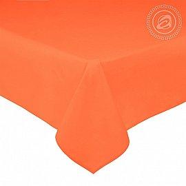 Простынь сатин, оранжевый, арт. 809_гк, 220*240 см