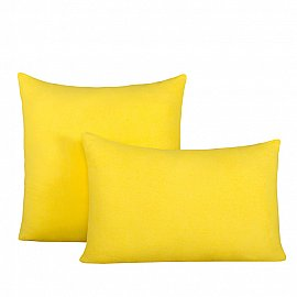 """Комплект трикотажных наволочек на молнии """"Лимон"""", 70*70 см"""