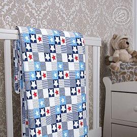 """Одеяло-покрывало трикотажное """"Звезды"""", 100*140 см"""