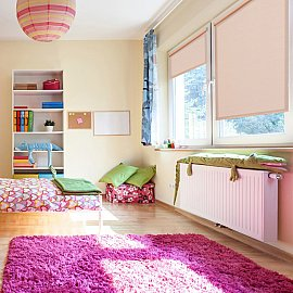 "Рулонная штора ролло жаккард ""Аспен"", розовое дерево, 70 см"