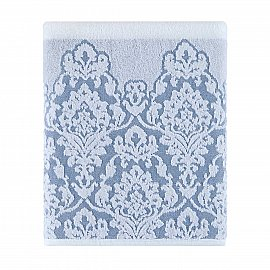 Полотенце жаккард Arya Ascod, голубой, 70*140 см