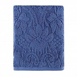Полотенце жаккард Arya Penny, синий, 70*140 см
