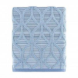 Полотенце жаккард Arya Teton, синий, 50*90 см