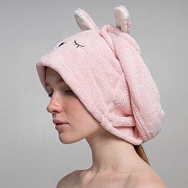 Полотенце-тюрбан Arya Sleepy, розовый, 23*59 см