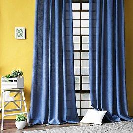 """Комплект штор """"Фиджи"""", синий, 200*270 см"""