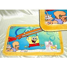 Детский коврик для ванной SpongeBob, 50*80 см