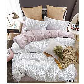 КПБ Сатин печатный дизайн 165 (1.5 спальный)