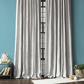 """Комплект штор """"Джим"""", серый, 145*270 см"""