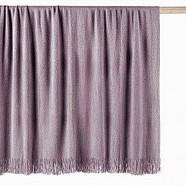 Плед Arya с бахромой Utah, розовый, 127*152 см
