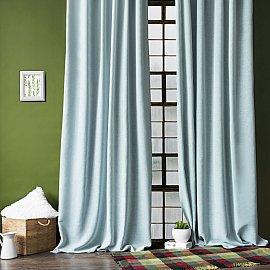 """Комплект штор """"Фиджи"""", серо-голубой, 200*270 см"""