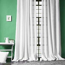 """Комплект штор """"Фиджи"""", белый, 140*270 см"""