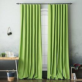Комплект штор БИЛЛИ, зеленый, 270 см