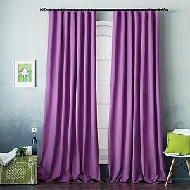 Комплект штор БИЛЛИ, фиолетовый, 270 см