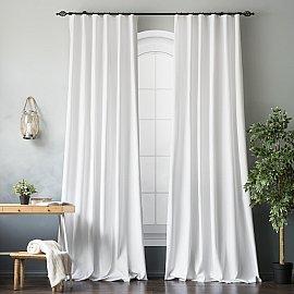 Комплект штор БИЛЛИ, белый, 270 см